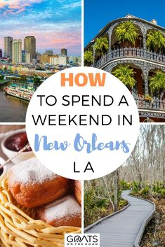 Planning a trip to the beautiful New Orleans for a weekend? Here is our complete guide on how to spend a weekend in New Orleans! From recommendations on where to stay, enjoy live music, and more! If you are new to New Orleans, welcome! | #travelguide #travel #NewOrleans
