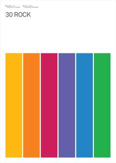 I thought I was done with all these minimalist posters, but damn it if they didn't get me with a rainbow.