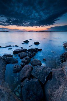 A lovely shore in Torslanda, Sweden by Martin Moorgrove.
