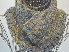 Dewdrop Cowl    If you've looked at a few of my patterns, you've probably already figured out that I love a cowl (so efficient! good for b...