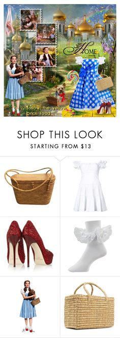 """The Wizard Of Oz- Dorothy"" by prettyasapicture ❤ liked on Polyvore featuring Caroline Constas, Jimmy Choo and Nannacay"