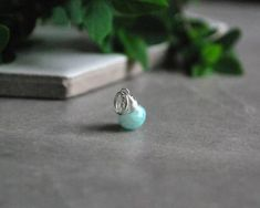 Buy Now S - Mint Green Amazonite Pendant - Amazonite Necklace... Crystal Pendant, Mint Green, Class Ring, Gemstone Rings, Gemstones, Crystals, Pendants, Stuff To Buy, Jewelry