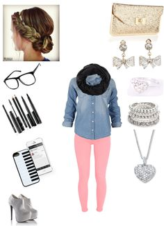 """""""a day at the mall with friends"""" by elizabeth-leto ❤ liked on Polyvore"""