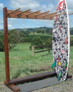 DYI Vertical Surfboard Rack - Google Search