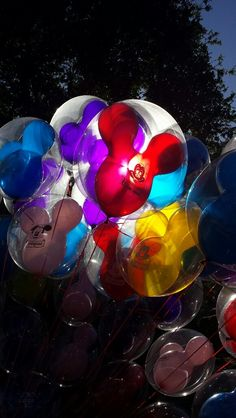 Mouse balloons