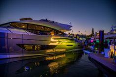 S72 World Premier at the 2014 Miami Yacht & Brokerage Show by Princess Yachts #PrincessYachtsAmerica