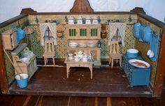 Wonderful antique german kitchen found at www.rubylane.com @rubylanecom
