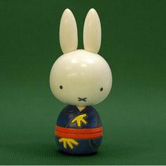 Miffy kokeshi
