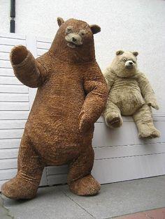 Giant Teddy Bear costume by animatronicbear