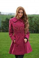 Palton LaDonna Be Elegant Fuchsia Popular Outfits, Elegant, Coat, Pink, Jackets, Style, Fashion, Classy, Down Jackets