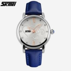 Relojes Mujer 2016 Quartz Watch Women Watches Relogio Feminino Women s Leather Dress Fashion Brand SKMEI
