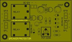 Simple Tv, Diy Amplifier, Powered Subwoofer, Circuit Diagram, Diy Electronics, Electrical Engineering, Layout Design, Technology, Led
