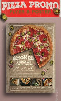 Pizza Promo Flyer on Behance