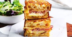 Want to master the perfect toastie? You will need good quality ham and sourdough, an abundance of cheese and some dijon to bring out the flavours!