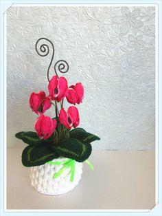 Ciclamini Uncinetto - Crochet Cyclamens