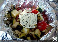 Gemüsepäckchen für den Grill (Rezept mit Bild)   Chefkoch.de