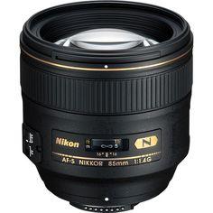 Nikon AF-S NIKKOR 85mm f/1.4G Lens 2195 B&H Photo Video