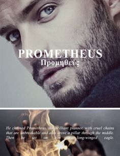 "[1/3] primordial deities → Prometheus ""A Titan in Greek mythology, Prometheus is best known as the creator of mankind and its greatest benefactor, who gifted humans with fire stolen from Mount..."