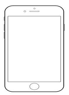 Malvorlage Smartphone Coloring And Malvorlagan
