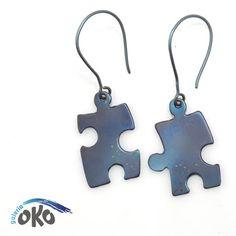Puzzle / galeria OKO / Biżuteria / Kolczyki