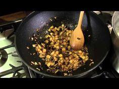 Pasta med sauce af aubergine og ansjoser | Madhjælp