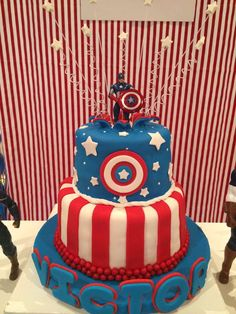 Top 25 Superhero Cake Recipes and Ideas For Boys Tortas