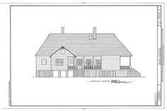 HABS LA,35-BERM,2- (sheet 8 of 32) - Oakland Plantation, Route 494, Bermuda, Natchitoches Parish, LA