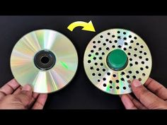 3 Amazing Life hacks of CD ! Crafts With Cds, Cd Crafts, Cardboard Crafts, Easy Crafts For Kids, Diy Home Crafts, Bottle Crafts, Diy Crafts To Sell, Diy With Cds, Wall Decor Crafts