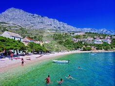 BRATUŠ - Centar Riviera Beach, Croatia, Golf Courses, Dolores Park, Places To Visit, Journey, Beaches, Nature, Travel
