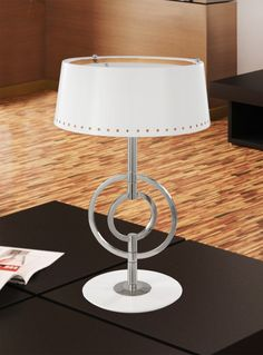 Table lamps can be used in any space, though they are most often found in bedrooms, living rooms and home offices next to sofas, chairs or beds. Although they can act as a primary light fixture, they are most often used as supplemental lighting for more detail-oriented tasks. They also work well in hallways, stairwells and near doorways since they ensure no one trips and falls while walking. Visit our website - www.castrolightin... and discover all our offer. #table lamps #custompieces