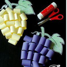 grape craft | Crafts and Worksheets for Preschool,Toddler and Kindergarten