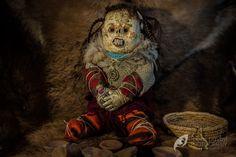 creepy mummy doll