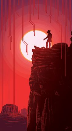 Westworld Poster - Created by Marko Manev