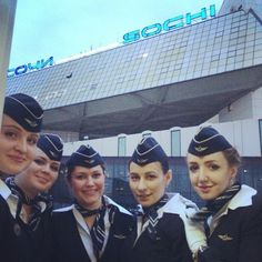 """#sochi #crew #flightattendant #plane #airport #girls #job #cabincrew!"" Photo taken by @lb_xoxo on Instagram, pinned via the InstaPin iOS App! http://www.instapinapp.com (03/30/2015)"