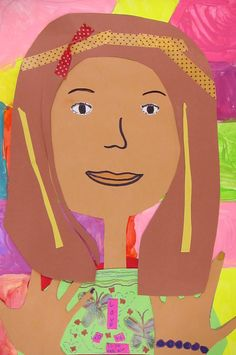 Art is Basic-- Art Teacher Blog: 3rd Grade Color Mixing and Self Portraits
