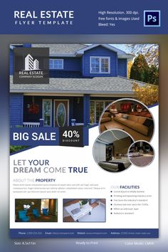 Flyer Samples Templates Flyer Template With Real Estate Agent Information  Home Staging .