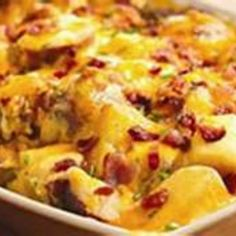 Deluxe Red Potato Bake (One Pan Meal) Recipe 2   Just A Pinch Recipes