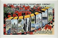 Riding the Amtrak Empire Builder to Portland, Oregon.