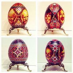 Happy Easter.   #bloodlines #eggs #handdyed #babaidido #mamaitato #pradidusya #predky