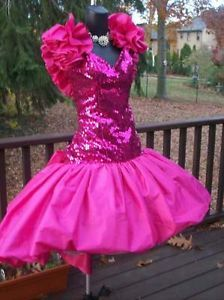 Perfectly Poofy Vintage 80s Prom Dress  The back 80s prom and Closet
