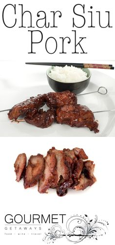 LOVE PORK! Especially Char Siu Pork!!! YUM! Make it at home using this easy recipe. Too much is never enough.
