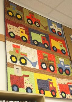 Little boy quilt by maura