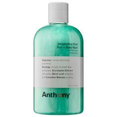 Invigorating Rush Hair + Body Wash - Anthony | Sephora