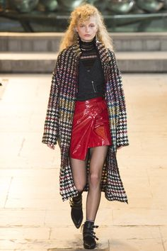 Isabel Marant Fall 2016 Ready-to-Wear Fashion Show  Marant has never been a favourite of ours: http://www.theclosetfeminist.ca/i-dont-like-isabel-marants-designs/   http://www.vogue.com/fashion-shows/fall-2016-ready-to-wear/isabel-marant/slideshow/collection#3