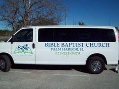 c4cc0f237289a1 First Baptist Church Shuttle Van Graphics