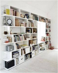 shelves u0026 window seat between the books