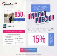 Ofihotel ya está instalado en 850 hoteles