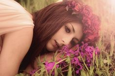Vintage Flower Crown by rougepony on Etsy, £40.00