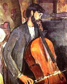 The Cellist by Amedeo Modigliani - Oil Paintings Reproductions From $119.00 at OilPaintings.com