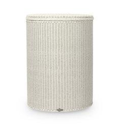 Wäschetonne Ikea geflochtener wäschekorb in weiß pinteres